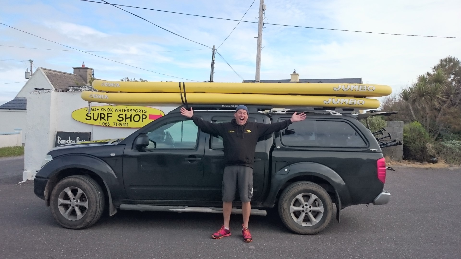 Jamie Knox Watersports Jumbo SUP Large