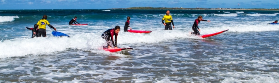 Surfing and SUP Lessons in Kerry